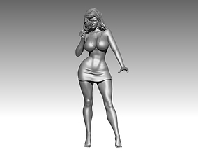 Statue body figure stands poses 3D print 3D model