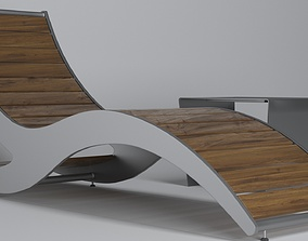 Loma Chaise Lounge 3D model