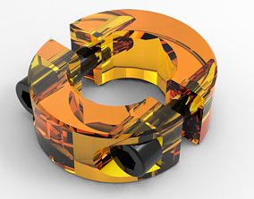 clamp 3D model tool