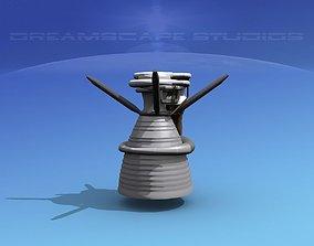 Rocketdyne F-1 Rocket Engine 3D model