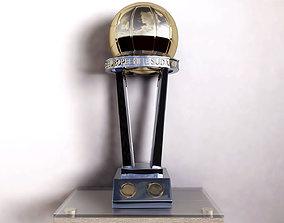 realtime Intercontinental Trophy 3D model V-RAY Cinema 4D