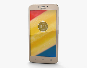 Motorola Moto C Plus Fine Gold 3D model