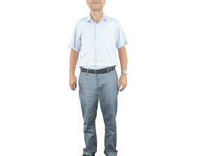 No363 - Male Standing 3D model