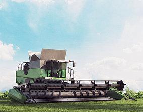 3D model harvester 03 am 146