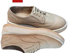 3D asset Shoes suede 119