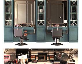 3D model beauty salon set 010