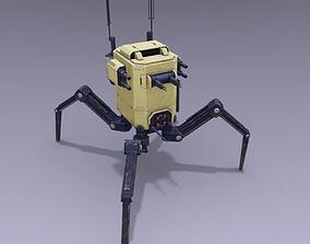 3D asset Spiderbot