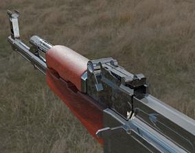 assault-rifle 3D model ak 47