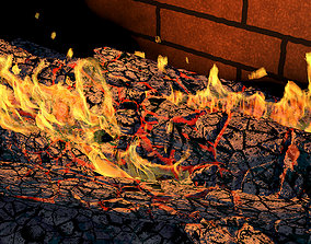 animated fireplace 3d animations