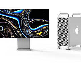 Apple 2019 MAC PRO pro display XDR computer 3D model
