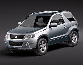 Suzuki Grand Vitara 3door 3D Model