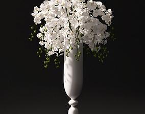 Orchid bouquet 3D