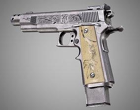 Safari Arms Matchmaster Custom 1911 Pistol AAA 3D asset 3