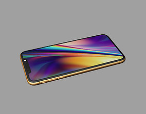 3D printable model iphone XI Max gold