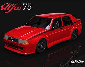 3D model Alfa 75