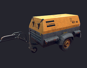 Mobile Generator 3D asset