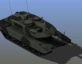 3D model Leopard2 A7 Tank
