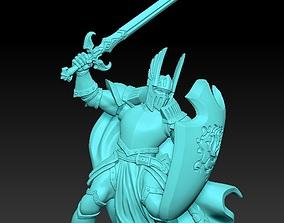 3D printable model Paladin