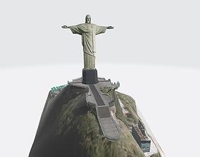 Christ the Redeemer Statue 3D asset realtime