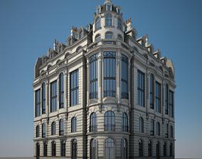 3D classic Old Building XVI