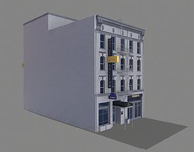 155 Steuart Street Building San Francisco low-poly 2