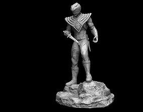 3D print model Power Ranger-Green Ranger