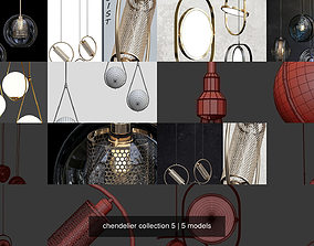 chendelier collection 5 3D model