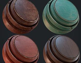 3D model Four Smart Materials Wood