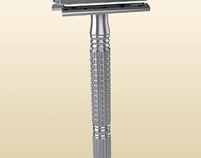 Razor Shaving Tool for Wet Shaving 3D model
