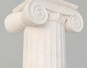 Ionic column and capital 3D