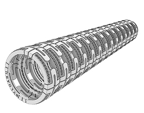 3D print model Perfect Bulgari Parentesi replica rings 2