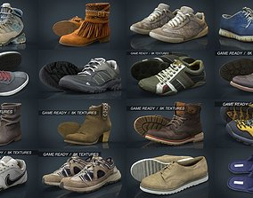 Shoes collection Pack x29 3D model