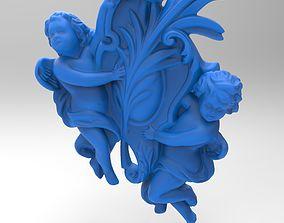 3D print model toons angel