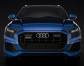 3D model Audi Q8 55 TFSI quattro 2020
