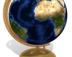 Standing globe toy learn 3D model