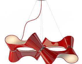 3D model Chandelier Mantra 1542 Ora Rojo