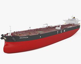 3D model Crude Oil Tanker Decathlon