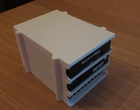 Stackable Harddisk Storage 3D print model