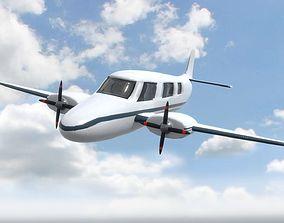 Plane For Games 3D model