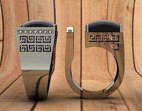 onyx ring 3D printable model