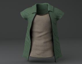 Men Clothing set 3D asset
