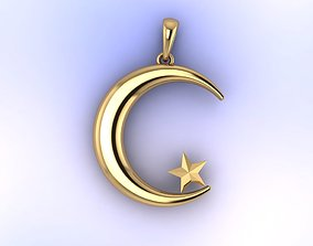 3D printable model Star and Crescent