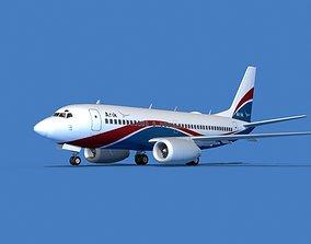 Boeing 737 MAX 7 Arik 3D