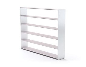 White Shelving 3D