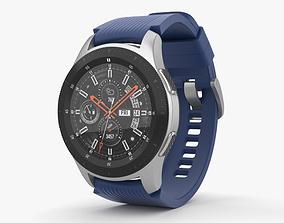 Samsung Galaxy Watch 46mm Deep Ocean Blue 3D