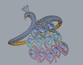 3D print model peacock hand