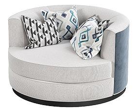 EMPIRE Armchair by Stylish Club 3D