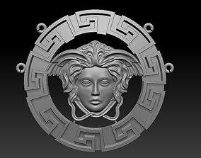 3D printable model Versace pendant with oysters