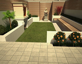 3D model Barbecue Garden