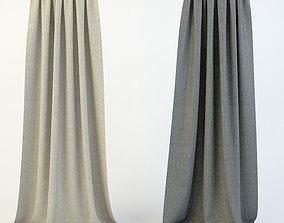 3D model Curtains gardens
